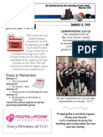 VCS Newsletter January 11