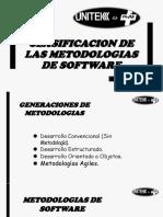 Clasificacion de Las Metodologias de Software