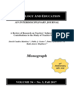 A Review of Research on Teachers Subjective Theories_ Contributions to the Study of Teacher Education.pdf