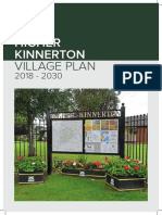 Higher Kinnerton Village Plan, 2019