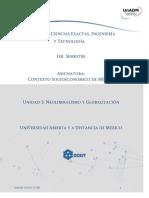 U2. Modelos Economicos Contemporaneos