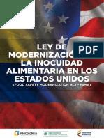 Ley de Modernización de La Inocuidad Alimentaria en Los Estados Unidos - Procolombia