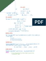 Repaso Para PC1 ECUACIONES DIFERENCIALES Y ÁLGEBRA LINEAL