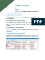Manual de Control y Seguimiento de Obras utilizando Microsoft Project 2016