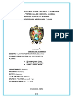 Fluidos Informe 9 Avance