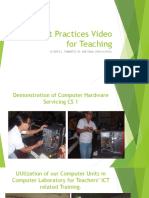 ICT Best Practices Video for Teaching