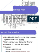 Business Plan Writing for BSOM 20101018
