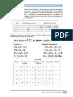 Investigación Operativa - Minimización