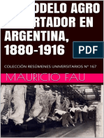 El Modelo Agro Exportador en Argentina, 1880-1916 – Colección Resúmenes Universitarios Nº 167 (Spanish Edition)