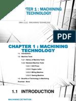 Chapter 1 Machining Technology
