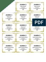 Label Piala Hut Ri