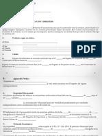 Modelo informe de títulos