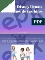 Alexandra Azpúrua - EPK y Disney Llenan Los Sueños de TusHijos
