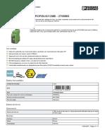 Repetidor - PSI-REP-PROFIBUS/12MB - 2708863