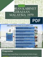 Laporan Kabinet Malaysia 1979