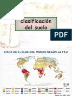 clasificación del suelo FAO