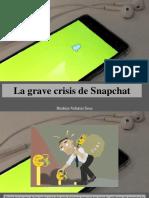 Ibrahim Velutini Sosa - La Grave Crisis de Snapchat