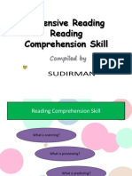 OVERVIEW Reading Comprehension Skill