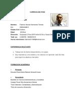 Fabricio Sarmiento Curriculum 1