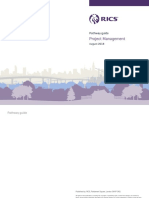 Project Management Pathway Guide Chartered Rics