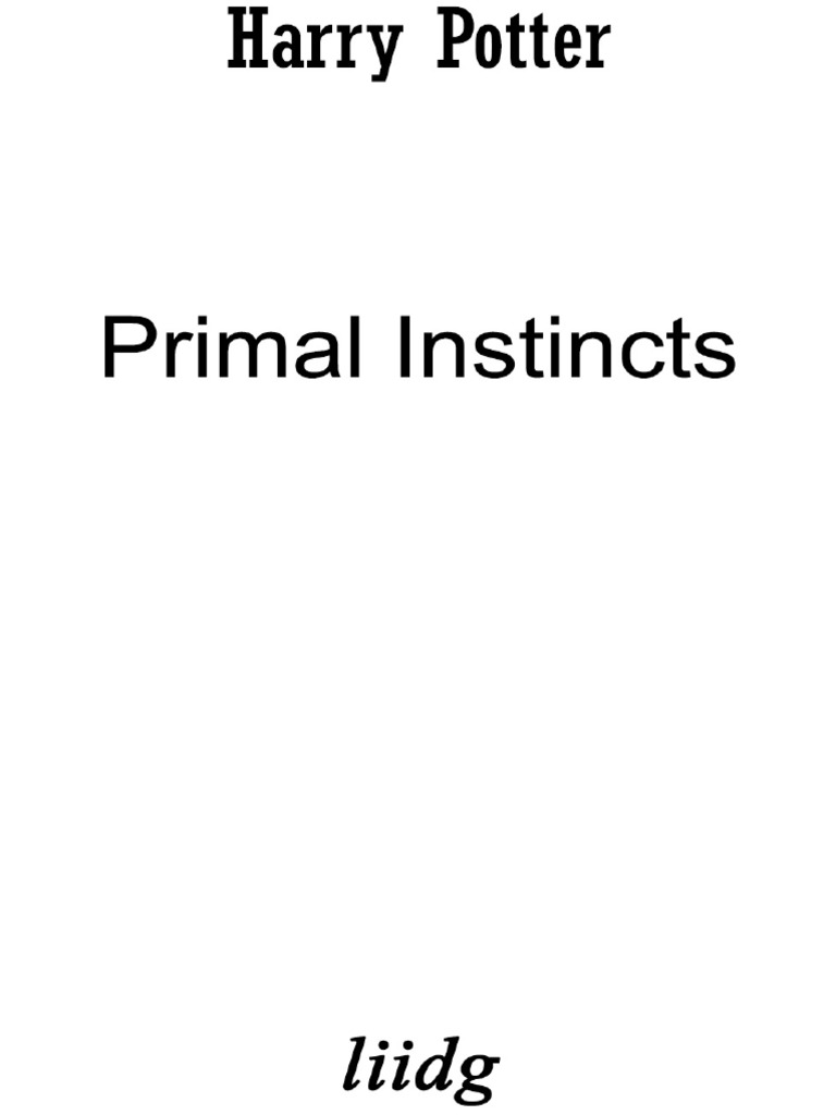 liidg-Primal-Instincts pdf | Magic (Paranormal) | Artificial