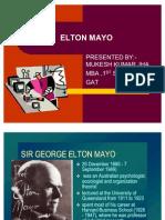 Elton Mayo