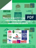 Juan Carlos Escotet - Banesco Mantuvo Apoyo a La Educación, La Salud y La Nutrición en 2018