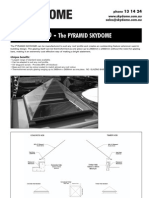 Pyramid Skydome Specification