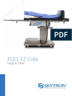 3503 EZ Slide Operating Table