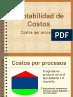 Costos Por Procesos - Diapositivas