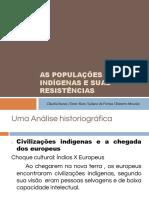 As Populações Indígenas e Suas Resistências.pptx