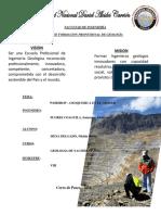 Trabajo de Geoquimica