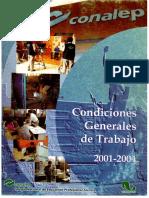 CONDICIONES GENERALES DE TRABAJO CONALEP