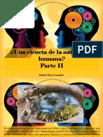 Danilo Díaz Granados - ¿Una Ciencia de La Naturaleza Humana?, Parte II