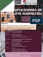 Afiche 05 E070 Albañilaría Huancavelica