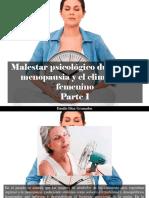 Danilo Díaz Granados - Malestar Psicológico Durante La Menopausia y El Climaterio Femenino, Parte I