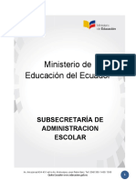 RESOLUCIÓN MINIEDU administracion escolar