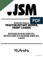 Kubota BX2350D Tractor Service Repair Manual.pdf