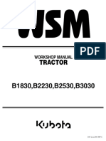 Kubota B2530 Tractor Service Repair Manual.pdf
