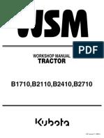 KUBOTA B2710HDB TRACTOR Service Repair Manual.pdf
