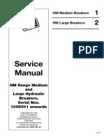 JCB HM Range Medium and Large Hydraulic Breakers Service Repair Manual SN1095001 onwards.pdf