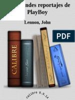 Los Grandes Reportajes de PlayB - Lennon, John