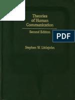Littlejohn Human Communication