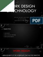 Work Design & Technology