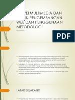 Survei Multimedia Dan Teknik Pengembangan Web Dan Penggunaan