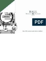 Ball Watch Catalogue