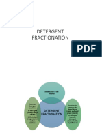 Detergent and Solvent Fractionation of Palm Oil