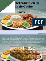 Ángel Marcano - Ruta gastronómica en Isla deCoche, Parte I