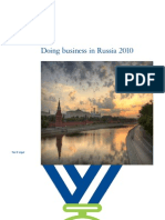 Dtt Tax Doing Business in Russia 2010