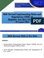 AGIA - IRR Revisions 2016  101316.pdf